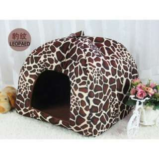 Leopard design bed for Dogs or cats