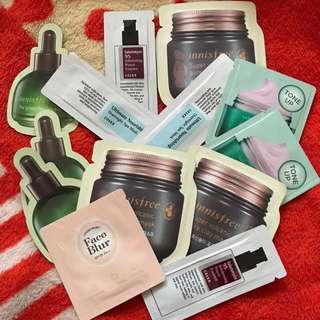 Korean Sample Products