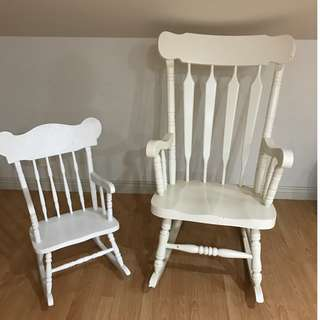 Rocking chair - Large & Small set