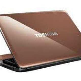 Laptop toshiba satellite L645