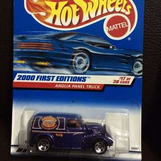 Hot Wheels - Anglia Panel Truck 2000 First Editions