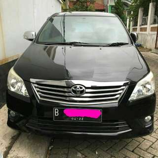 Toyota kijang innova 2.0 manual 2012 mulus like new, nego alus ditempat a/call/sms 081381910033