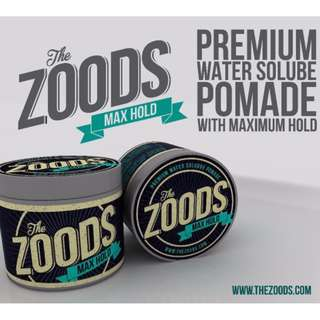 [FREE DOORSTEP DELIVERY]THE ZOODS 2.0 BY JADIOC NICE SCENT MAX HOLD POMADE