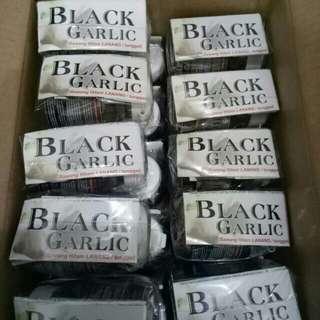 Black garlic/ bawang lanang hitam tunggal