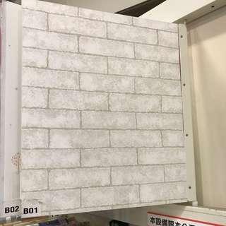 特力屋-自黏式 文化牆