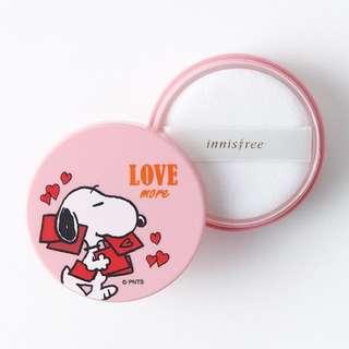 Innisfree X Snoopy No Sebum Mineral Powder (5g)