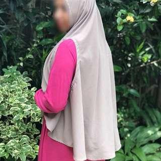Hijab Syari Nabila real pict