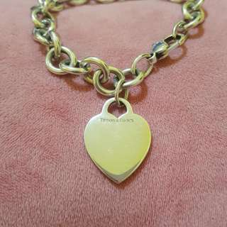 Tiffany And Co Heart Tag Bracelet On Sale