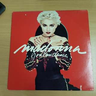 Madonna You Can Dance Vinyl LP Original Pressing Rare