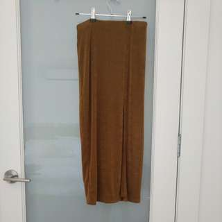 MINK PINK maxi skirt side split