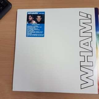 Wham The Final Double Vinyl LP Original Pressing Rare