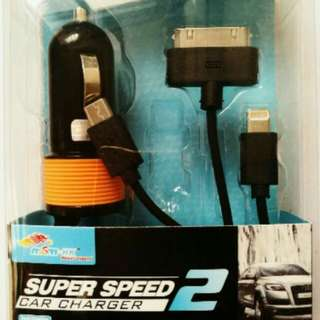 4 in 1 Car Charger