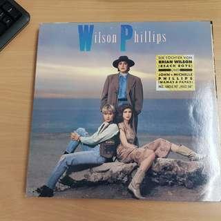 Wilson Phillips Self Titled Vinyl LP Original Pressing Rare
