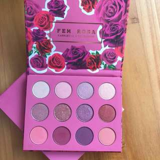 Karrueche x Colourpop FEM ROSA SHE Shadow Palette