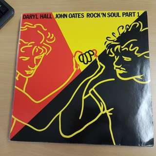 Daryl Hall & John Oates Rock and Soul Part 1 Vinyl LP Original Pressing Rare