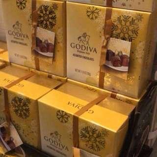 美國🇺🇸直送 GODIVA 🍫三層裝 Godiva Assorted Chocolates 禮盒