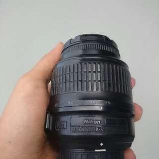 Nikon af-s dx 18-55mm f 3.5-5.6