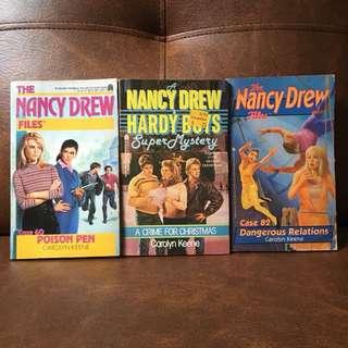 Nancy Drew books - P50 for 3 books