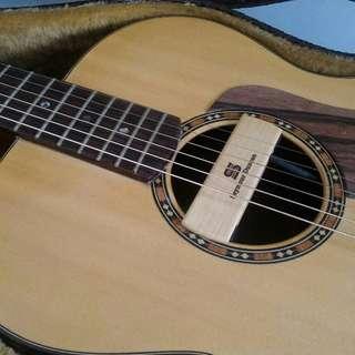 Pickup acoustic Seymour Duncan woody SA3SC mint condition, modif sudah female jack end pin