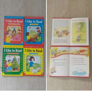 """I Like To Read"" Books (14 books)"