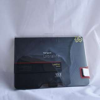 New 13.3inch Targus Leather Laptop Sleeve
