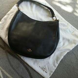 Coach Leader bag, Black , 90%New