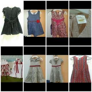 Assorted Dresses (RM13-RM20)