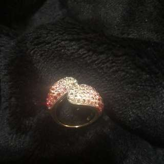 Swarovski ring size 7