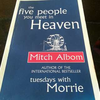 The Five People You Meet In Heaven Paperback English By (author)  Mitch Albom