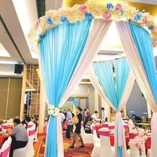 Cheapest budget wedding decoration pavilion