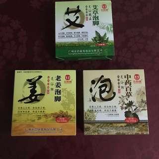 Herbal foot spa powder