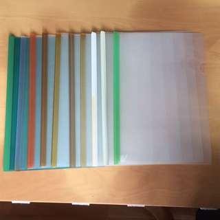 Clear Files (10pcs)