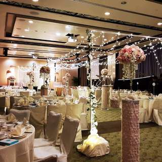 overall wedding deco stage deco walkin aisle deco fairylights walkin aisle
