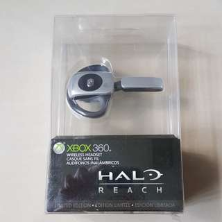 Xbox 360 Halo Reach Wireless Headset Sealed