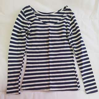 Stripes long sleeves