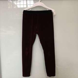 NEXT UK Velvet Pants
