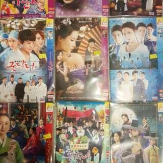 九套DVD韓劇