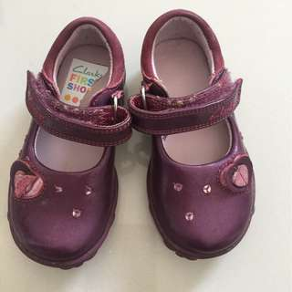 CLARK PRELOVED BABY GIRL SHOES