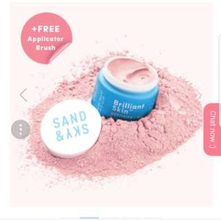Sand & Sky Brilliant Pink Clay Mask