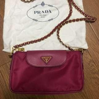 Prada 桃紅色手袋