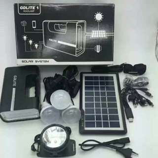 GDlite Plus Solar Lighting System Kit