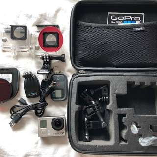 GoPro Hero 3+ with Accessories