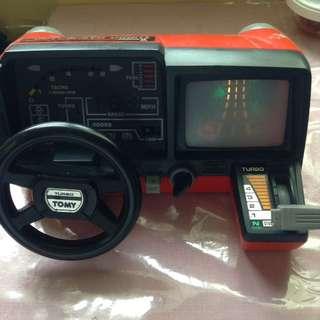Vintage Tomy Turbo Racing Dashboard