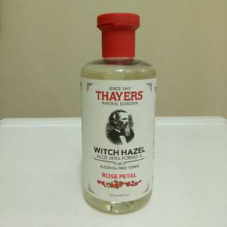 THAYERS Witch Hazel (Alcohol-free) Toner