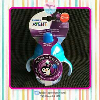 ‼️RESTOCK‼️ AVENT My Penguin Sippy Cup BLUE (12m+)
