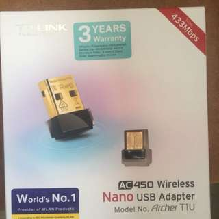 Selling TP-Link AC450 Wireless Nano USB Adapter