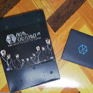[RESERVED] EXO THE LOST PLANET IN SEOUL DVD