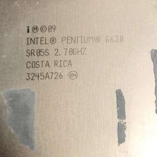 I7 cpu 2600 G630