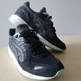 Asics GT-Cool Xpress - Sneakers Suede/Leather -Black/Grey/Mint