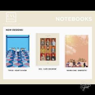 [MY GO] KPop Cover Notebooks